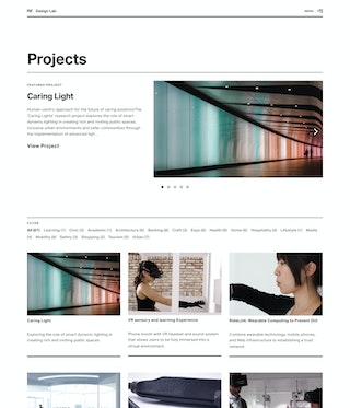 MIT Design Lab Projects Page