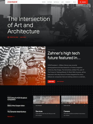 Zahner Home Page